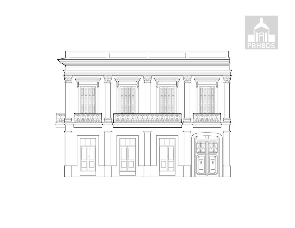 Casa Vives   Calle Atocha 88   Ponce, Puerto Rico    Diseñado por Juan Bertoli Calderoni (1859)