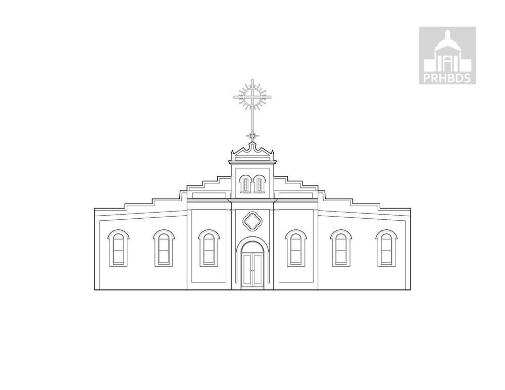 Parroquia Nuestra Señora de la Monserrate (1913)   Salinas, Puerto Rico    La fachada actual fue completada en el 2009.