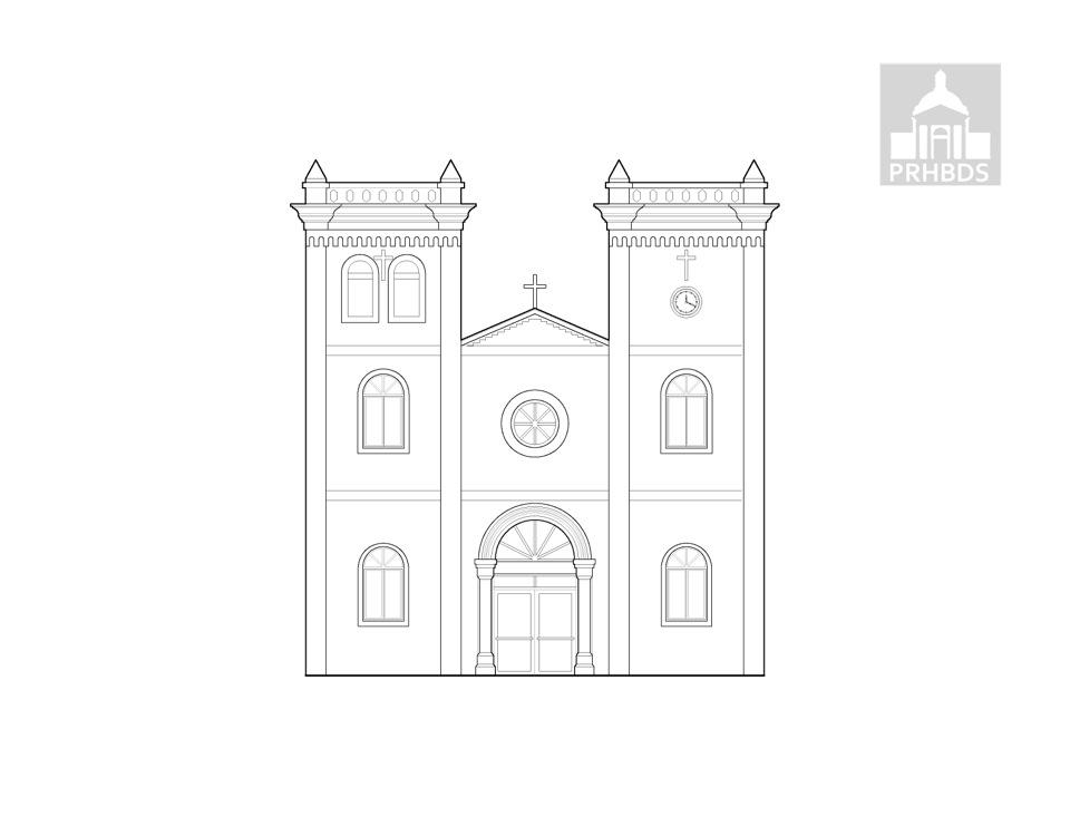 Parroquia San Sebastián Mártir   San Sebastián, Puerto Rico    Diseñada por Pedro Cobreros (1897)