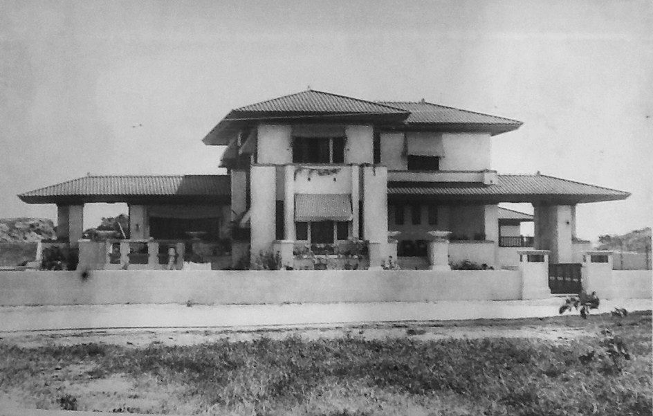 Casa Madame Luchetti fue diseñada por Antonin Nechodoma (1916)  Mansion o Casa Luchetti: Construida en 1916 y demolida a principios de 1960.