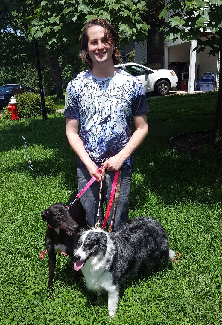 Brian was missing a new friend for his adorably sweet and energetic border collie, Ivy. When Daisy and Ivy got together, they knew they would have lots of fun to play, run and chase balls! It was the perfect Match! Brian and Ivy are so happy to have a new family member, Daisy in their group! Congratulations!