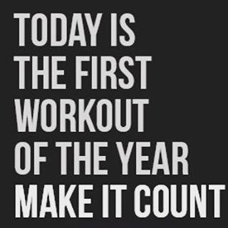 #happynewyear #resolution #workout #sharemiles