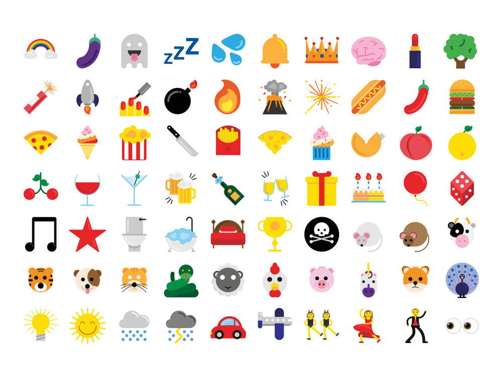 Emojis for Channel 4's 'The Circle'