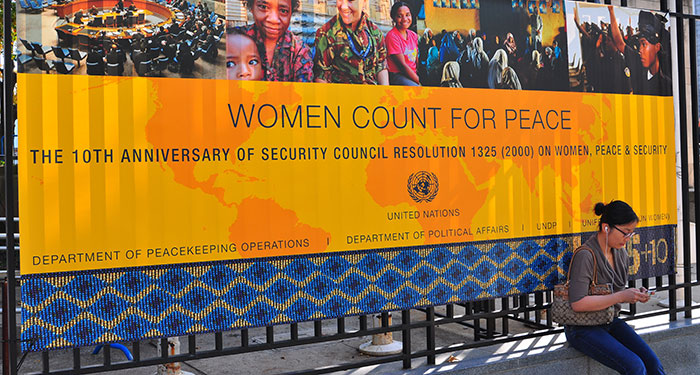 Women Count For Peace