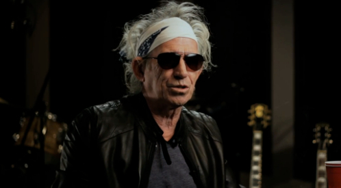 Rolling Stones Short Documentary Google Play Shot Kieth Richards