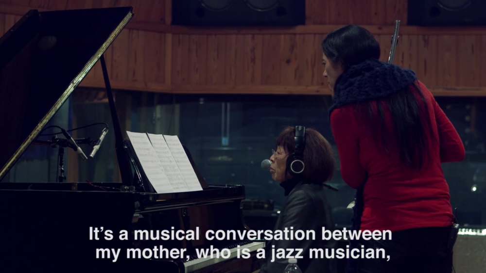 Monday Michiru short doc. This short piece turned into collaboration on 100 min TV doc with NHK (Japanese National Broadcasting), on the jazz legend Toshiko Akiyoshi aired in 2016.