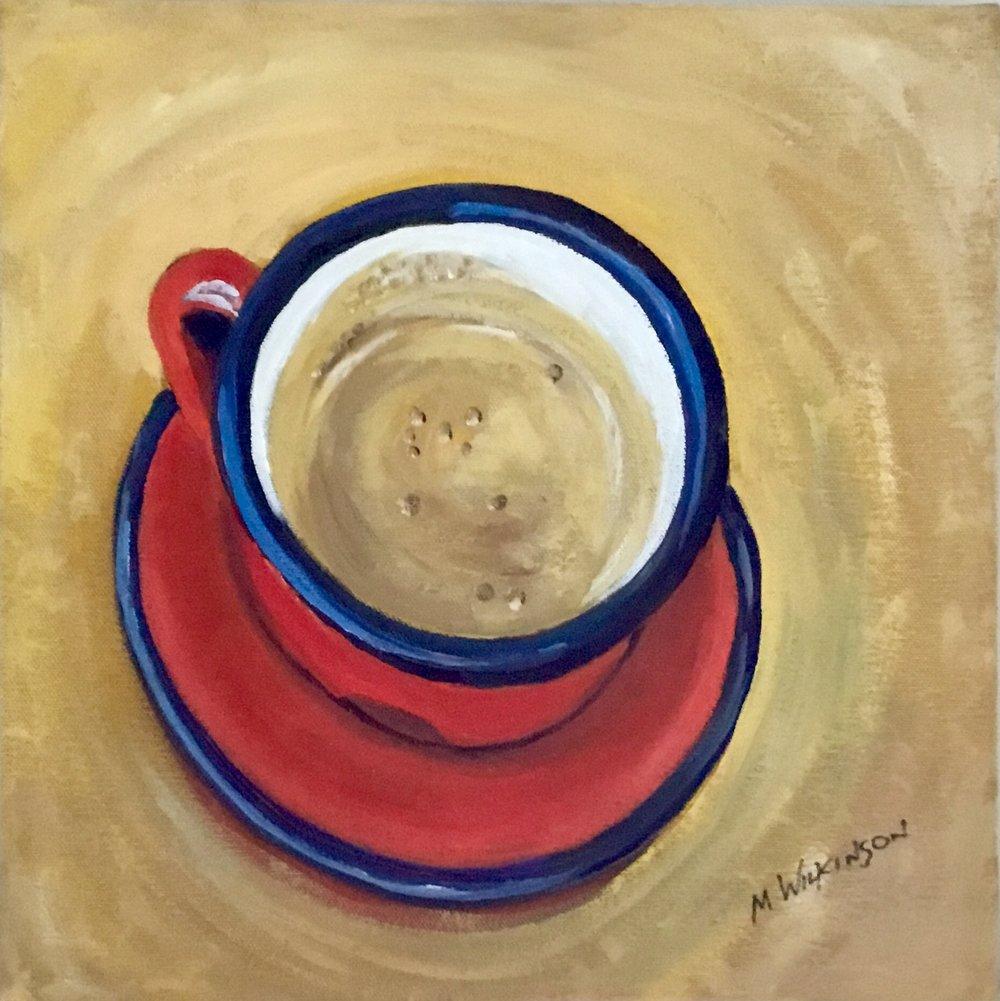 tazza rossa