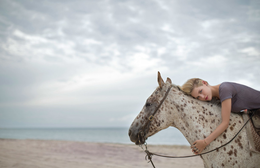 Horse Ashley Smith Montauk RVCA lookbook fashion