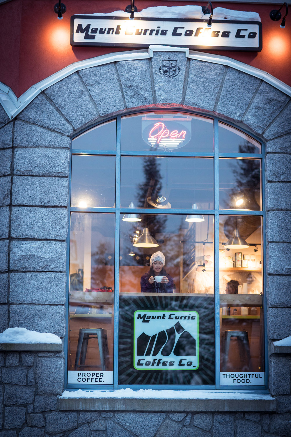 mount currie coffee shop whistler
