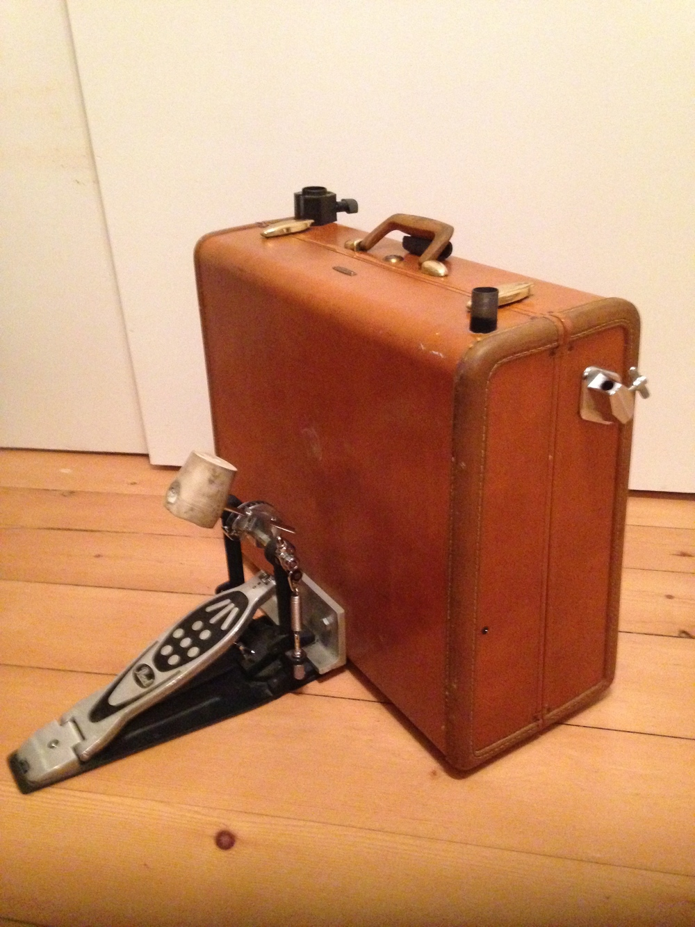Suitcase Kick Drum One Man Band Rig Kevdfoster