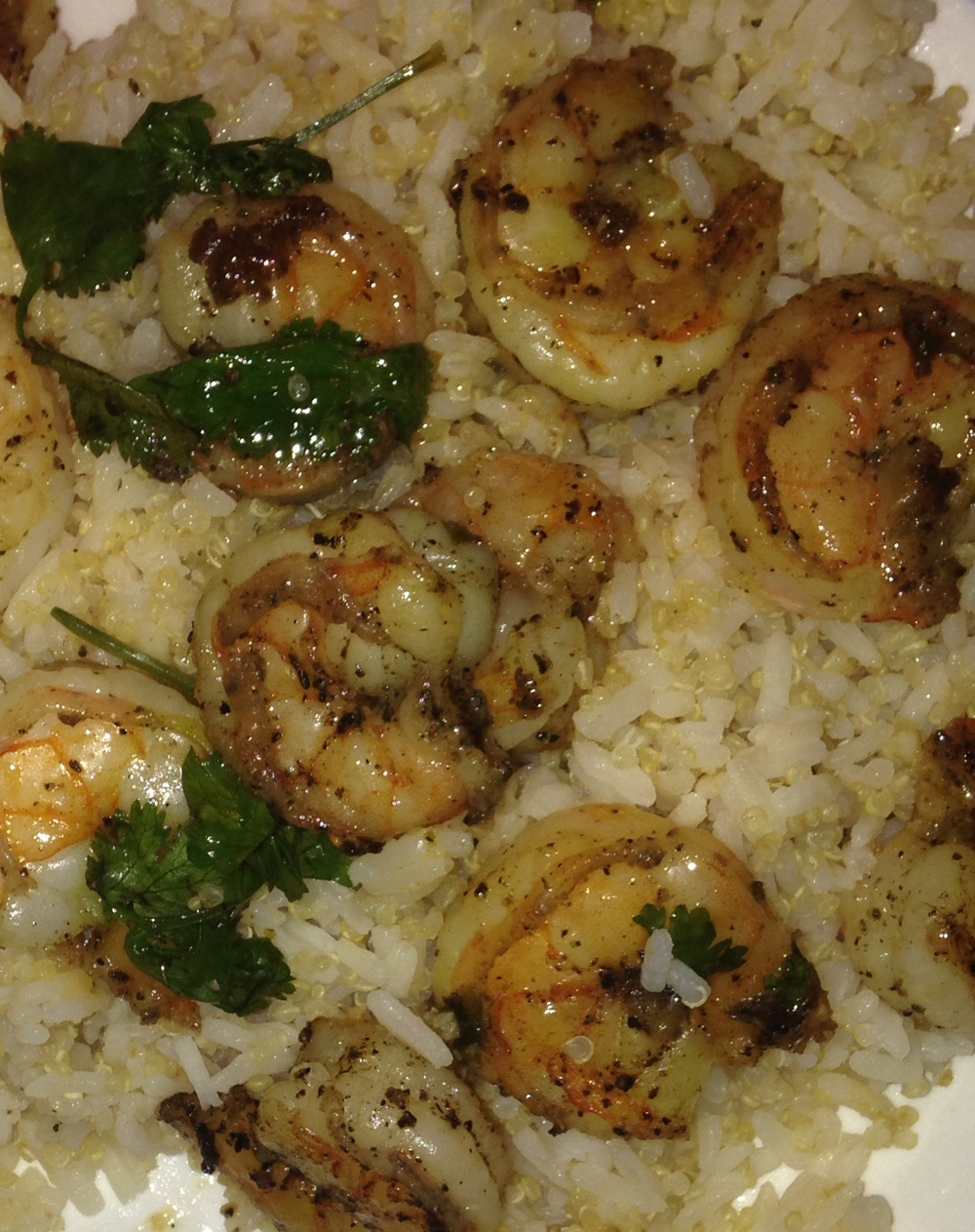 Poultry Heat Cilanro Lime Shrimp