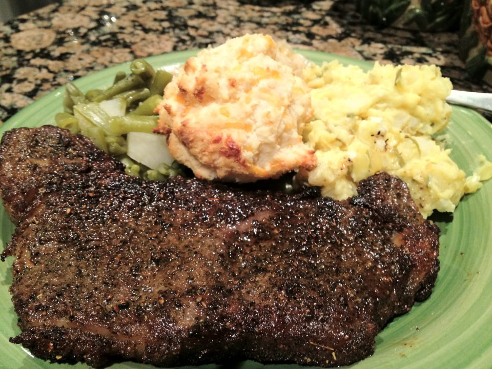 Southern Heat covered Steak