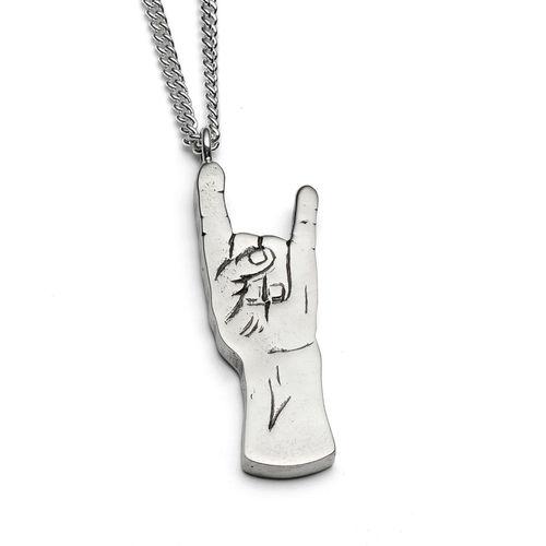 Rock on hand engraved silver pendant sophia hargreaves jewellery rock on hand engraved silver pendant aloadofball Gallery