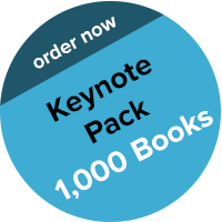 Buy 1,000 Books (and get 37% off): All of the above, plus: I will come to your HQ and give a 1 hour Keynote and Q&A, then do a 1 hour book signing afterward. (U.S. only.) Order here and email proof to keynotepack@shanesnow.com