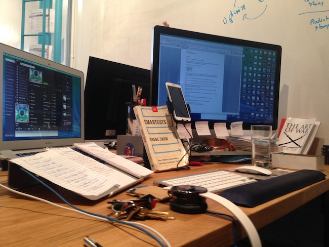 This is my desk.