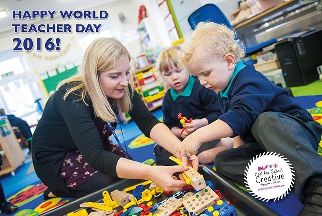 Happy #worldteachersday 2016! Here is an actual real live teacher from Mill Strand Integrated Primary and Nursery School...(most of you run like whippets from the camera!).
