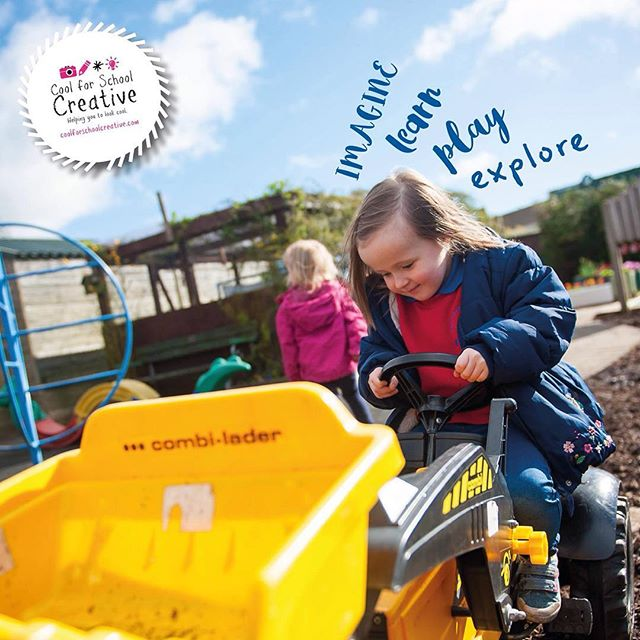 Some serious #farming going on during a recent #photoshoot at Steeple #Nursery #School #antrim #northernireland #playingislearning