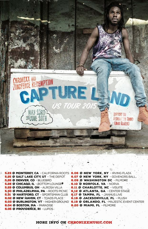 Chronixx Capture Land Tour