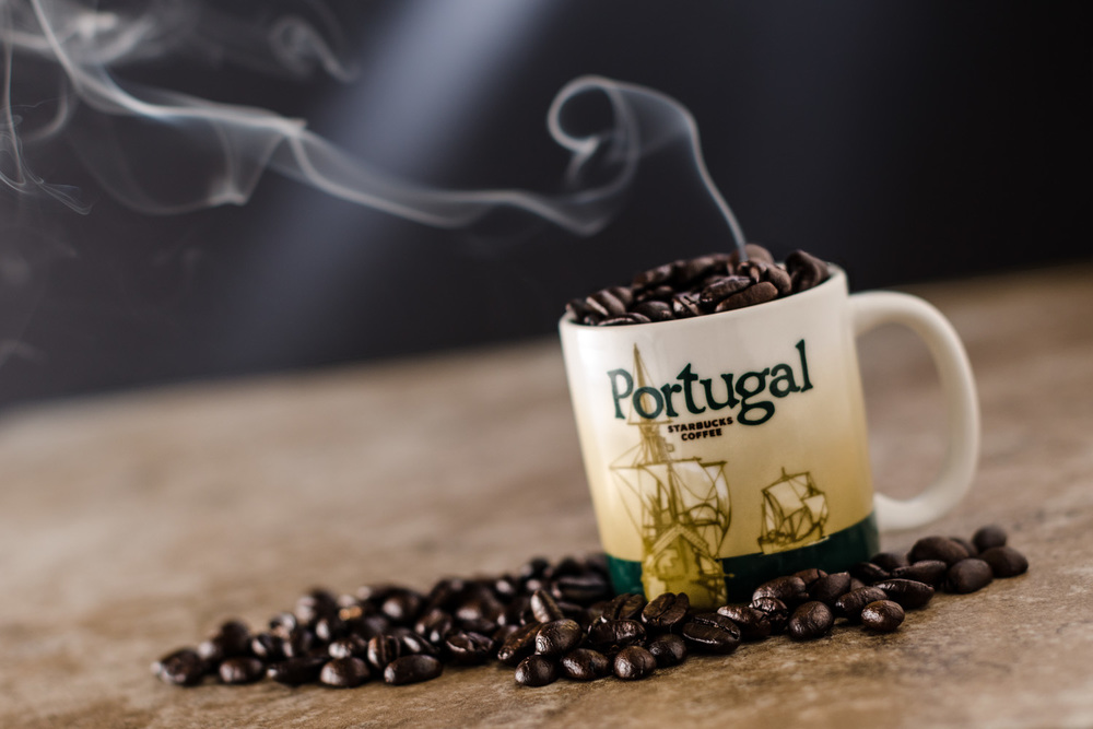 Starbucks Espresso Coffee Mug from Portugal