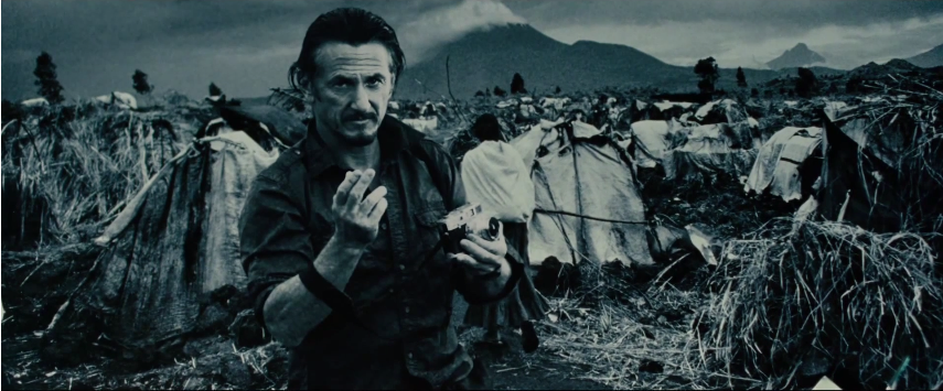Sean O'Connell (starring Sean Penn) in Marcus Bleasdale's original photo
