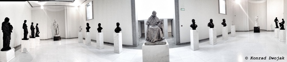 Porto Art Museum - Panorama of sculptures