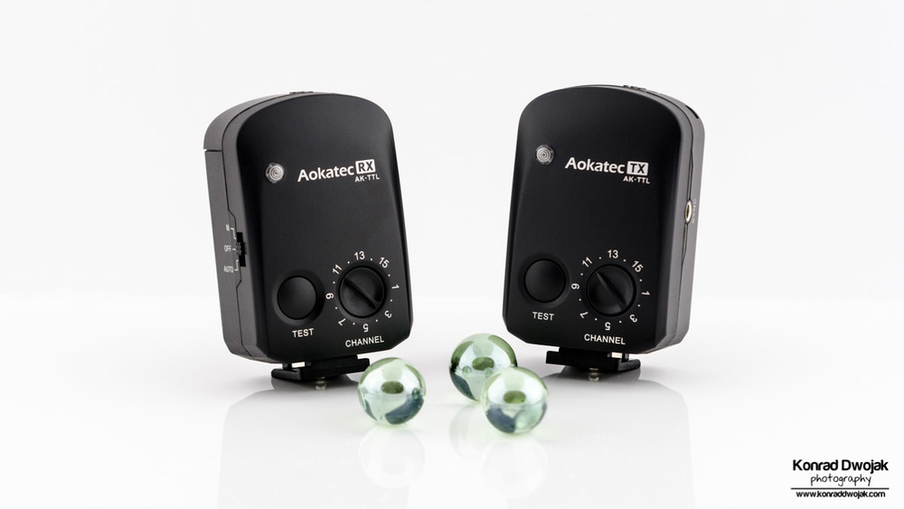 Aokatec AK-TTL's Transmitter and receiver