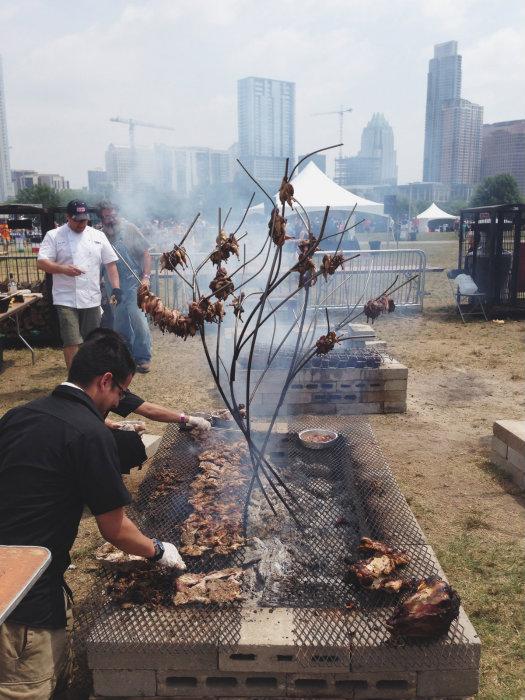 An even cooler way to roast quail.