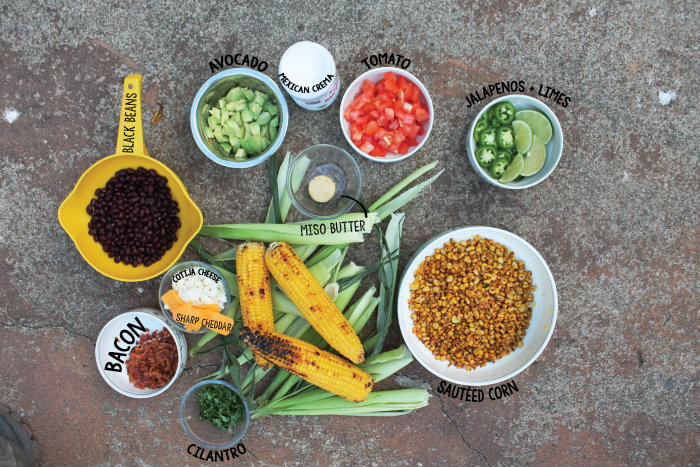 All these ingredients get you four awesome grilling dishes
