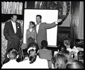 Entertaining kids with Bob Hope