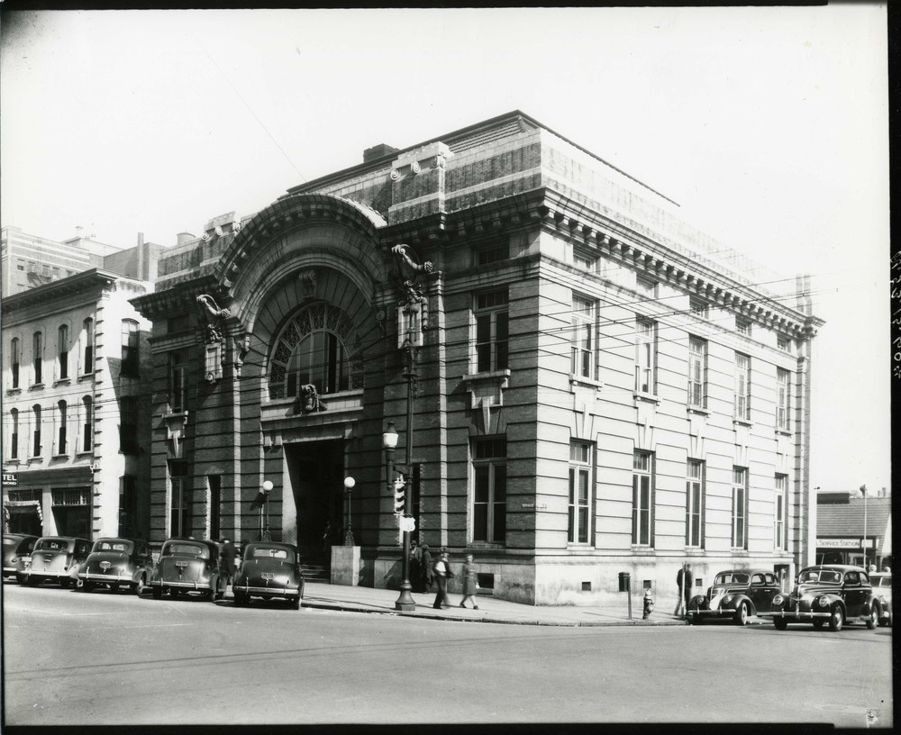 Raleigh City Hall. Photo ca. 1935.