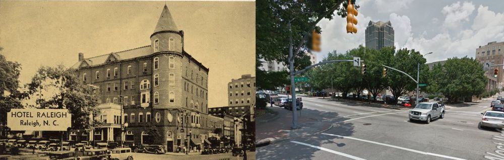The Park Hotel - Then and Now