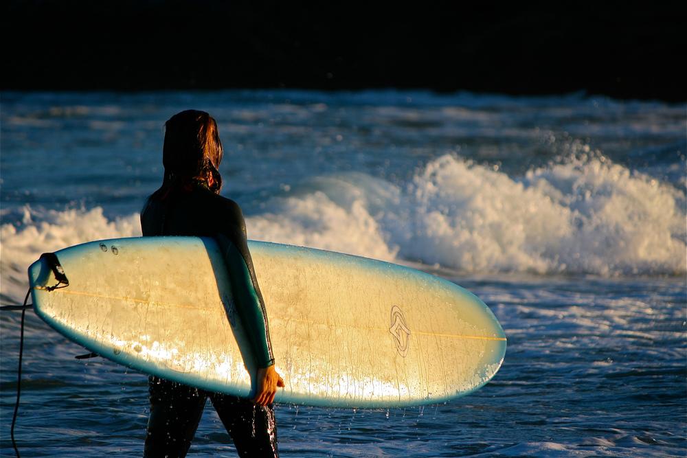 Surfer, Massachusetts