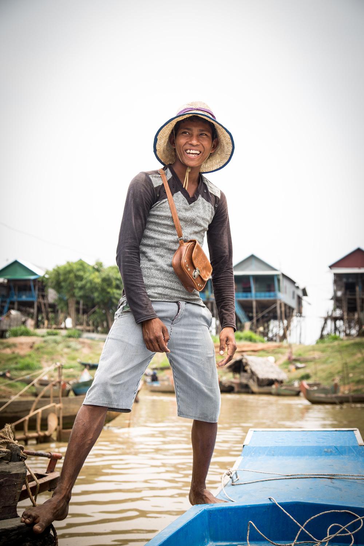Fishing Village, Cambodia