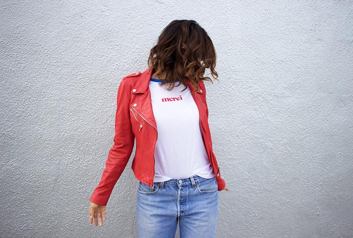 Zara jacket, Forever21 tee, Levis vintage denim, Isabel Marant sneakers
