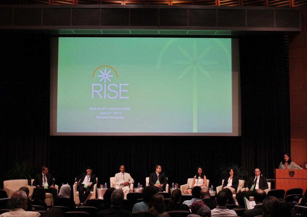 RISE Egypt launches its flagship RISE Fellowship Program in June 2014, Harvard University; Boston, MA