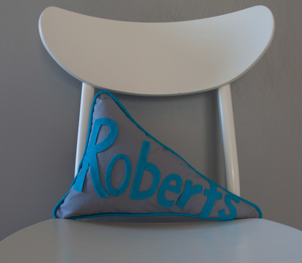 Hooray for Rain - Pennant Pillow
