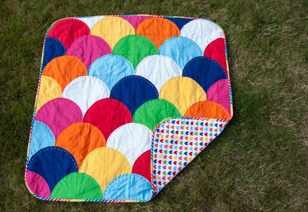 Hooray for Rain - Ample Curves Quilt