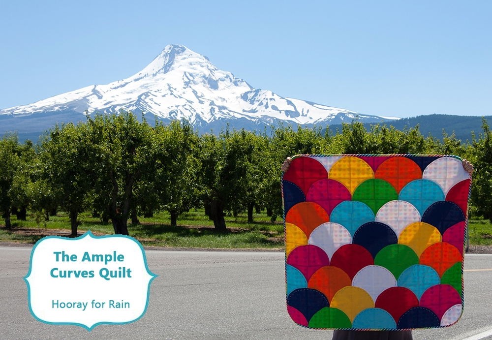 Hooray for Rain - The Ample Curves Quilt