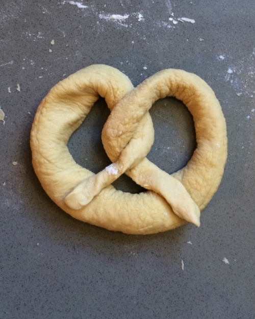 Hooray for Rain - Oktoberfest Pretzel Recipe