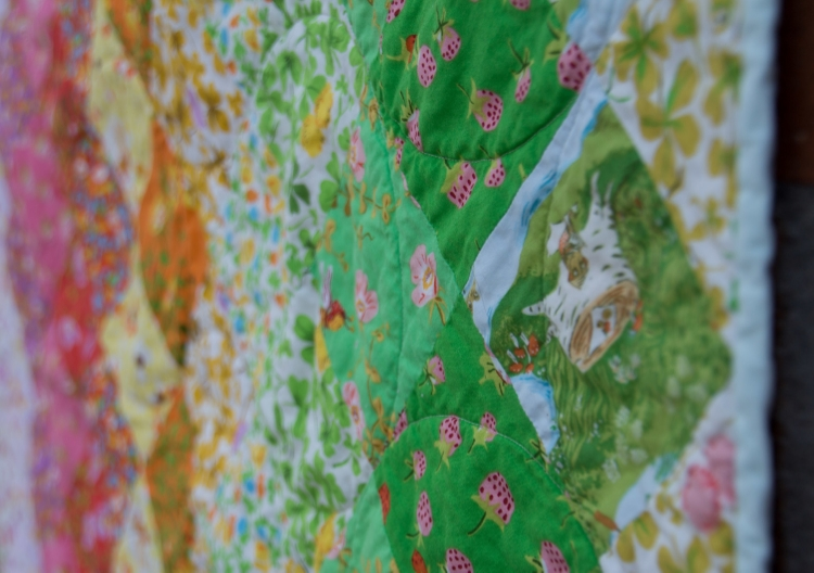 Hooray for Rain - Briar Rose Rainbow Quilt