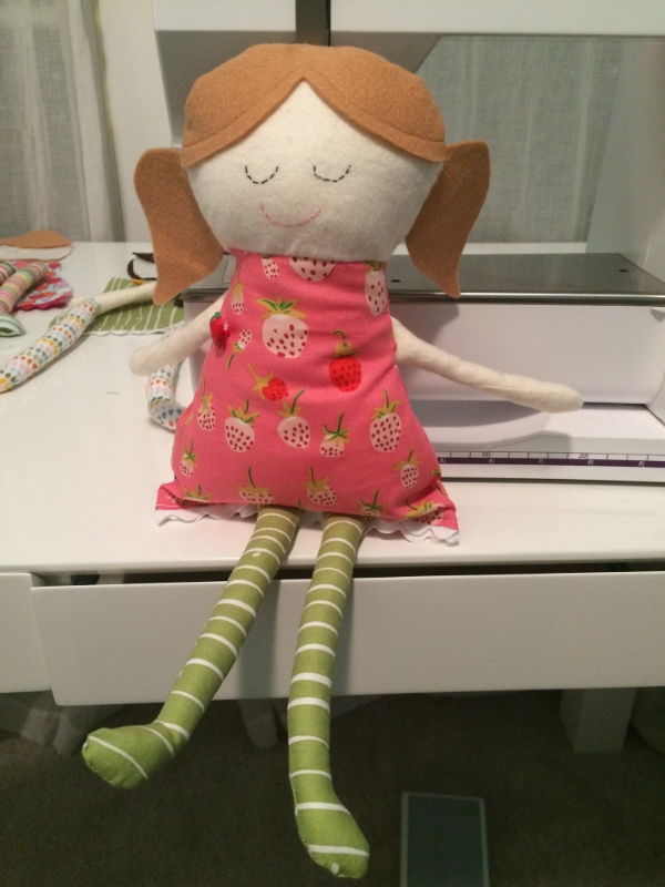 The Sweetest Doll Pattern - Hooray for Rain