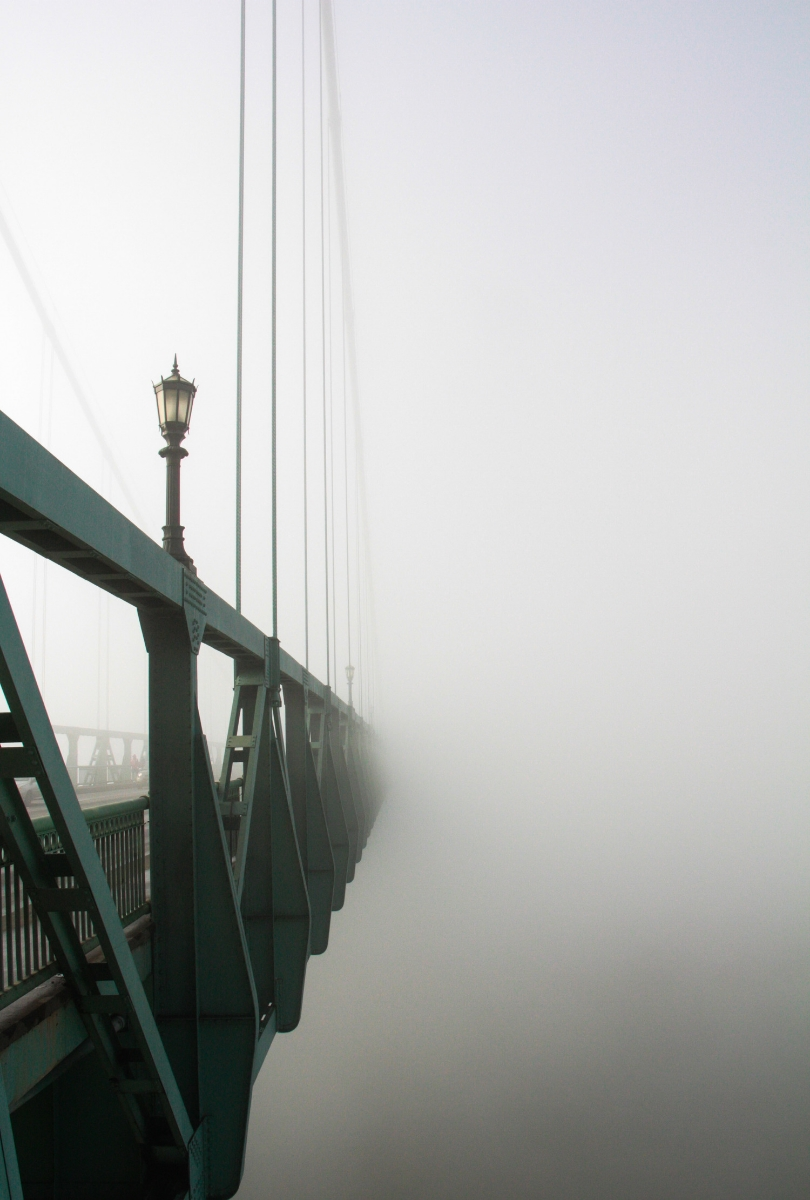 St. Johns Bridge - Hooray for Rain