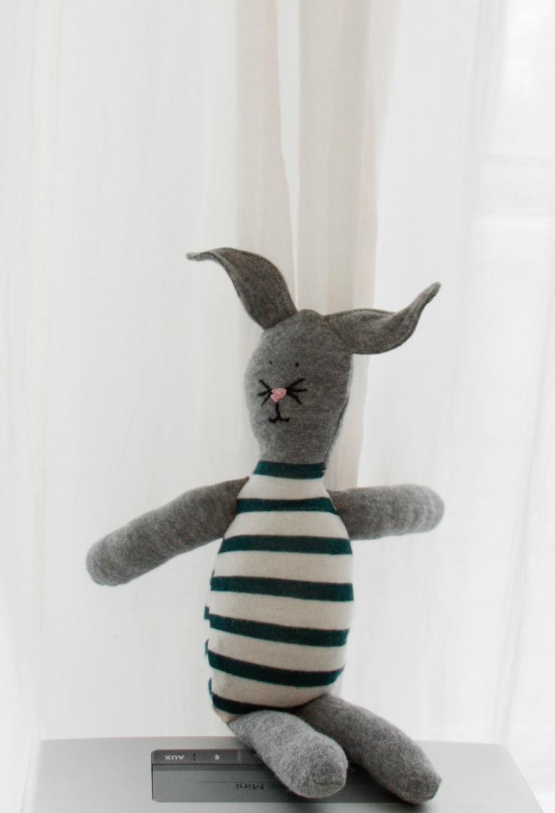 Easter Bunny Tutorial - www.hoorayforrain.com