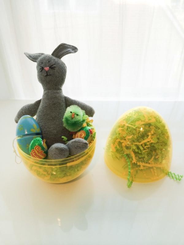 Easter Surprise Egg - www.hoorayforrain.com