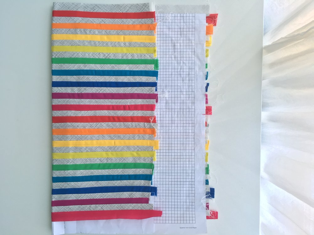 Hooray for Rain - Rainbow Mini Quilt Swap