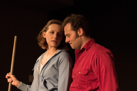 Click on the photo to read the NY Theatre Guide's Review of 'Night of the Working Dead,' at New Perspectives Theatre Company.