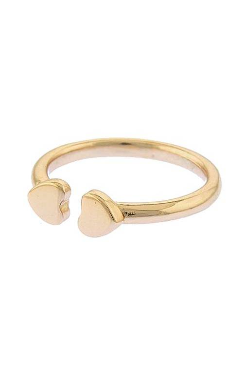 Alba Heart Double Tipped Fashion Ring $20