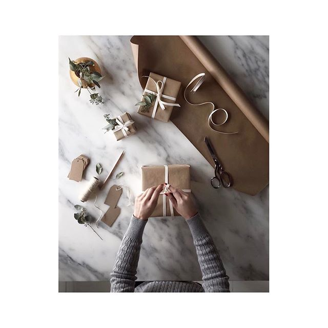 The art of gifting well. #holidays #gifts #giftwell #christmas #xmas #lotd #brooklyn #stockingstuffers #thatsawrap