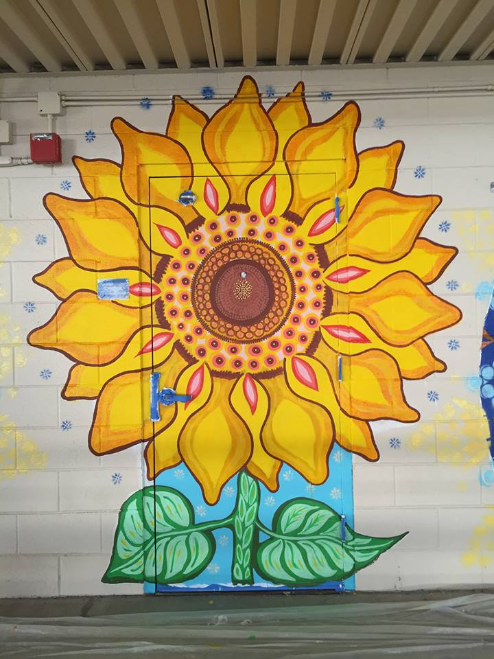 Crestwood's Sunflower Mural