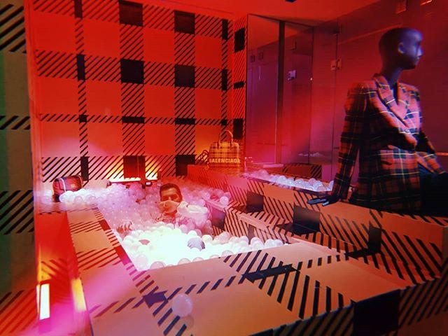 Take more baths. @balenciaga 📸: @naimukp #Balenciaga